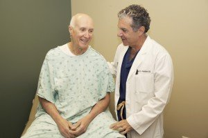 Vituro Health physician with prostate cancer patient