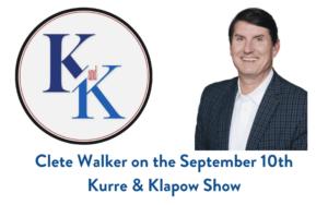 Clete Walker Kurre & Klapow Show
